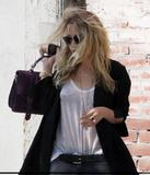 mary-kate olsen out in Soho